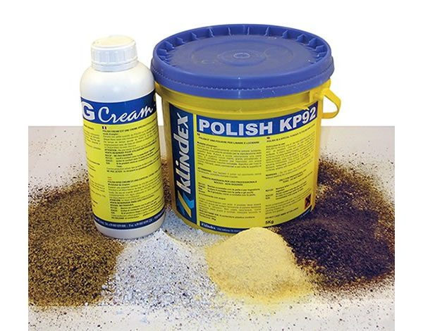 Polishing powders and creams