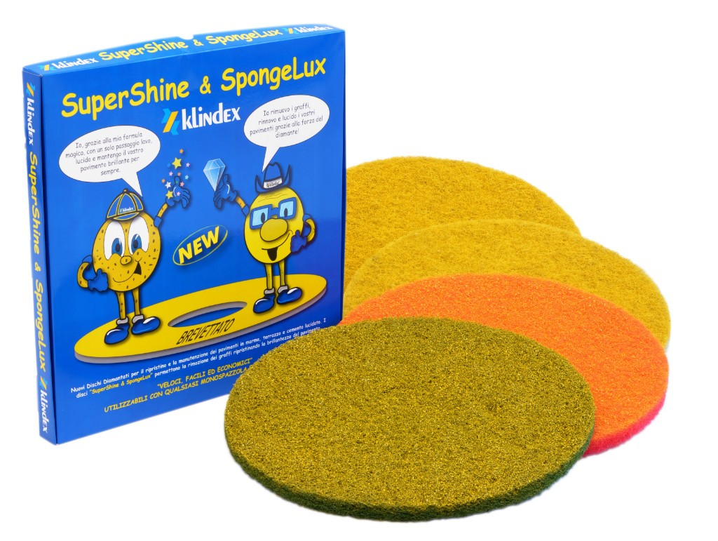 Klindex Supershine spongelux soft